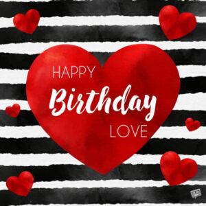 birthday shayari for gf